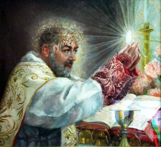 San Pio da Pietralcina c'insegna cos'è davvero la Santa Messa.
