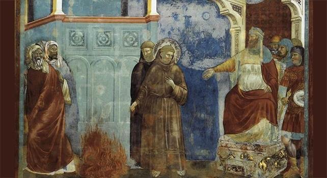 San Francesco ci mostra il senso della Missione Cristiana: portare a tutte le anime la Verità del Vangelo, per convertirle a Cristo, disposti, a tal fine, a subire il martirio