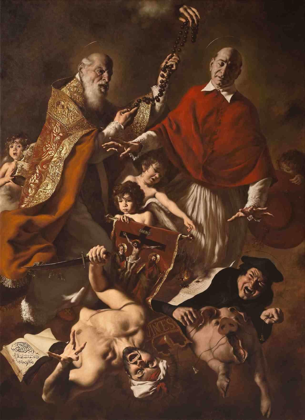 """IL CREDO; Capo X; Del Nono Articolo: """"Credo la Santa Chiesa Cattolica, la Comunione dei Santi""""; Parte 6: """"Di coloro che sono fuori della Chiesa"""""""