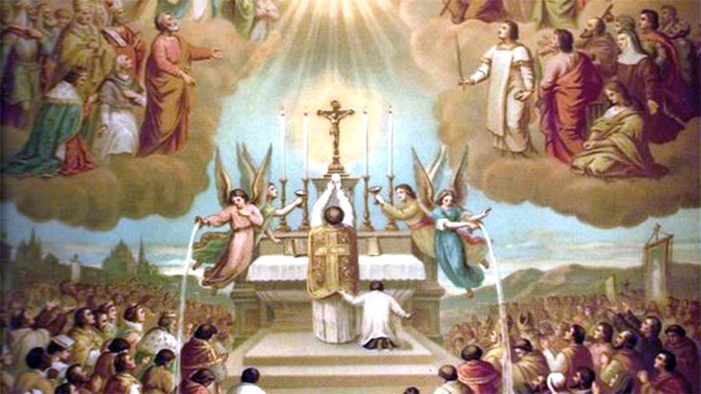 """IL CREDO; Capo X; Del Nono Articolo: """"Credo la Santa Chiesa Cattolica, la Comunione dei Santi""""; Parte 5: """"Della comunione dei Santi"""""""