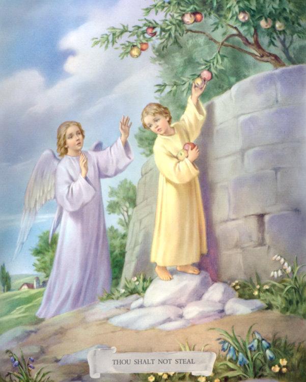 """CATECHISMO DELLA DOTTRINA CRISTIANA; Parte terza; CAPO III; 4. Del settimo comandamento: """"Non rubare"""""""