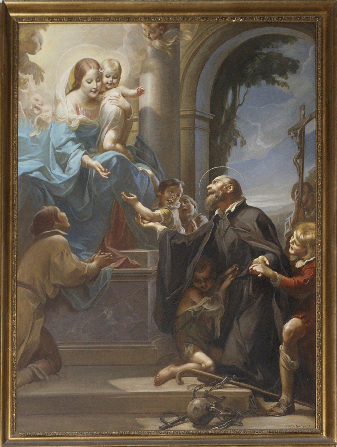 La miracolosa liberazione di San Girolamo Emiliani