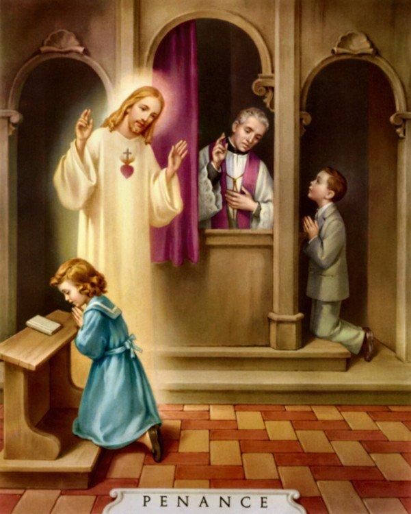 """CATECHISMO DELLA DOTTRINA CRISTIANA; Parte terza; CAPO IV; 4. Del terzo precetto della Chiesa: """"Confessarsi almeno una volta l'anno alla Pasqua di risurrezione""""no e comunicarsi almen"""