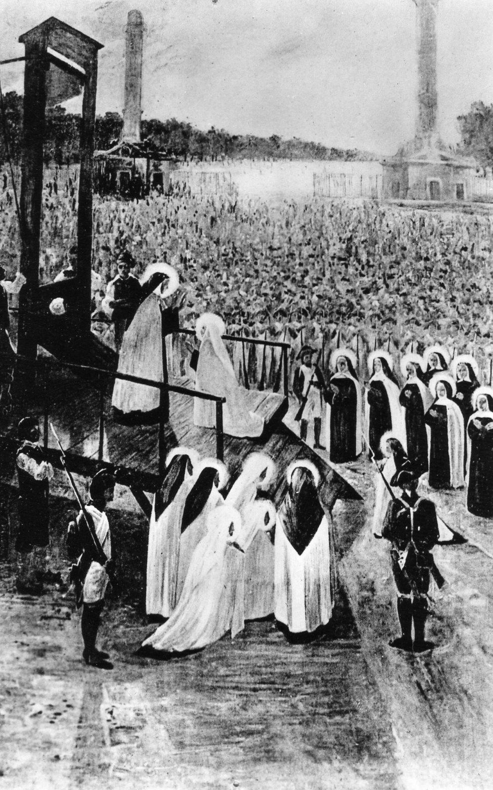 USQUE AD EFFUSIONEM SANGUINIS; Le 16 eroiche carmelitane martiri di Compiegne