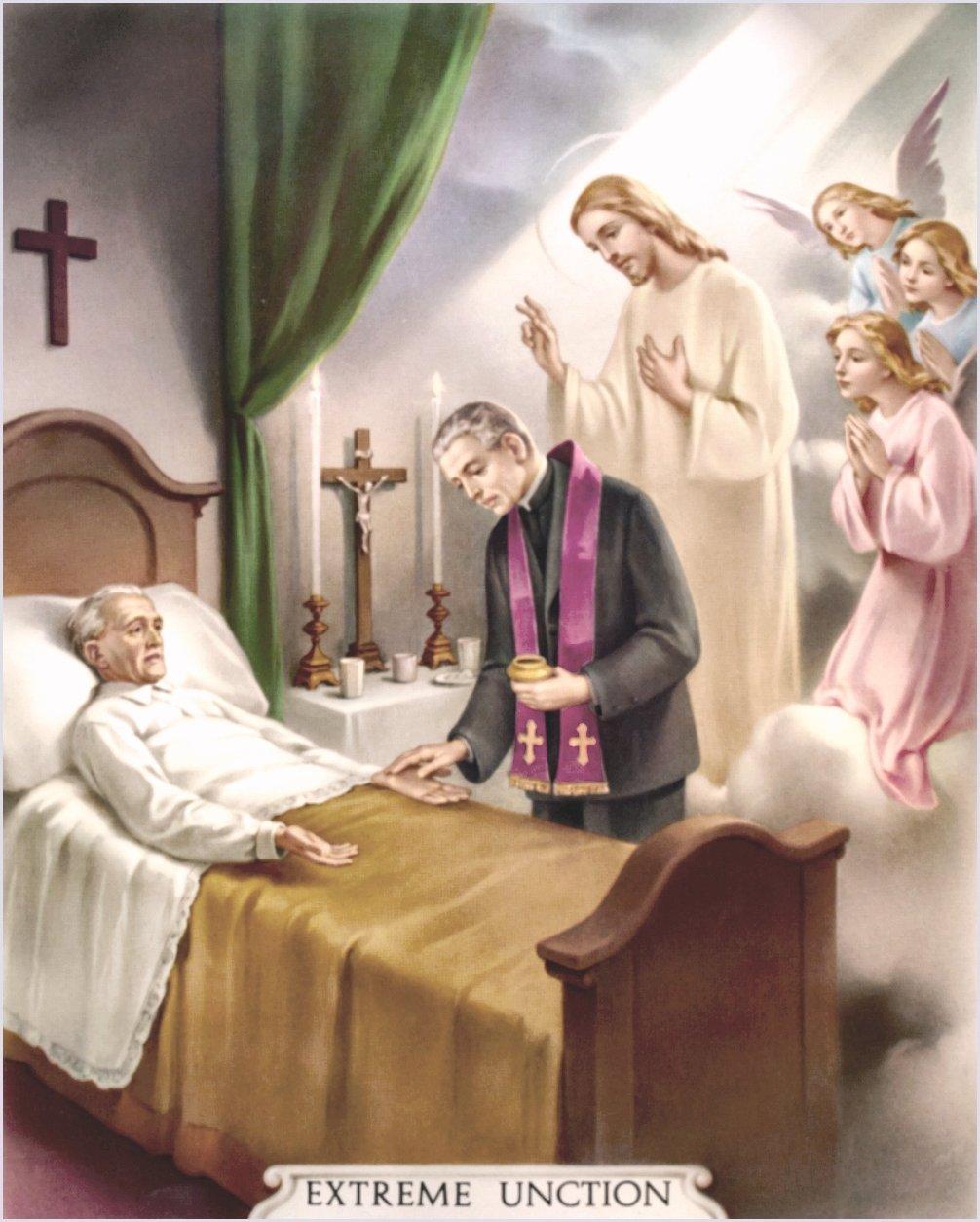 CATECHISMO DELLA DOTTRINA CRISTIANA; PARTE IV: DEI SACRAMENTI; CAPO VII: Dell'Estrema Unzione