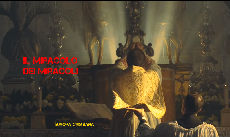 «Il Miracolo dei Miracoli» nel VIDEO di Roberto Bonaventura