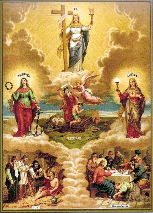 """CATECHISMO DELLA DOTTRINA CRISTIANA; PARTE V: """"DELLE VIRTÙ PRINCIPALI E DI ALTRE COSE NECESSARIE A SAPERSI DAL CRISTIANO""""; CAPO I. Delle virtù principali; 1. - Delle virtù teologali."""